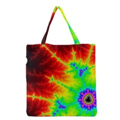 Misc Fractals Grocery Tote Bag