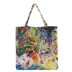 Multicolor Anime Colors Colorful Grocery Tote Bag