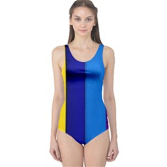 Paper Rainbow Colorful Colors One Piece Swimsuit