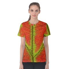 Nature Leaves Women s Cotton Tee
