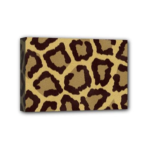 Leopard Mini Canvas 6  X 4