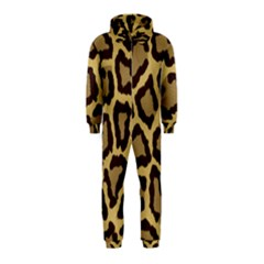 Leopard Hooded Jumpsuit (kids)