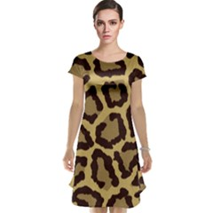 Leopard Cap Sleeve Nightdress