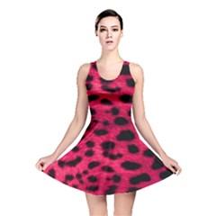 Leopard Skin Reversible Skater Dress