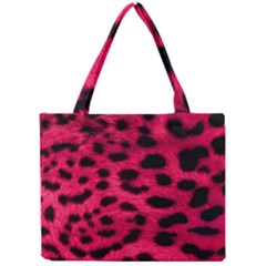 Leopard Skin Mini Tote Bag
