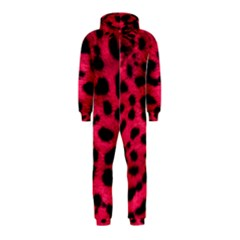 Leopard Skin Hooded Jumpsuit (kids)