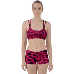Leopard Skin Women s Sports Set