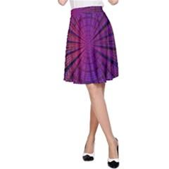 Matrix A Line Skirt