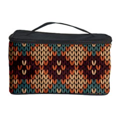 Knitted Pattern Cosmetic Storage Case