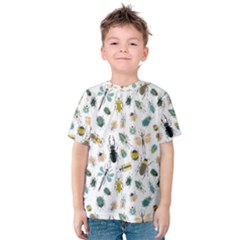 Insect Animal Pattern Kids  Cotton Tee