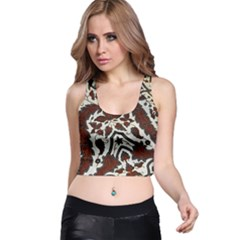 Javanese Batik Racer Back Crop Top