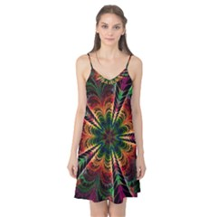 Kaleidoscope Patterns Colors Camis Nightgown