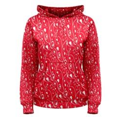 Heart Pattern Women s Pullover Hoodie