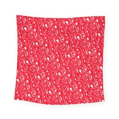 Heart Pattern Square Tapestry (small)