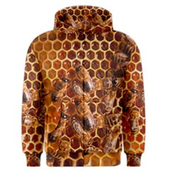 Honey Bees Men s Zipper Hoodie