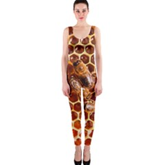 Honey Bees Onepiece Catsuit