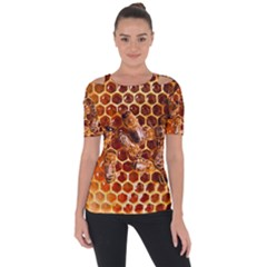 Honey Bees Short Sleeve Top