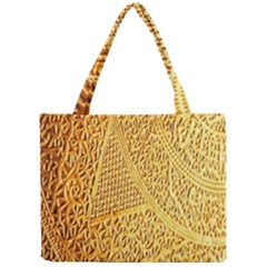 Gold Pattern Mini Tote Bag