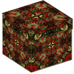Fractal Kaleidoscope Storage Stool 12