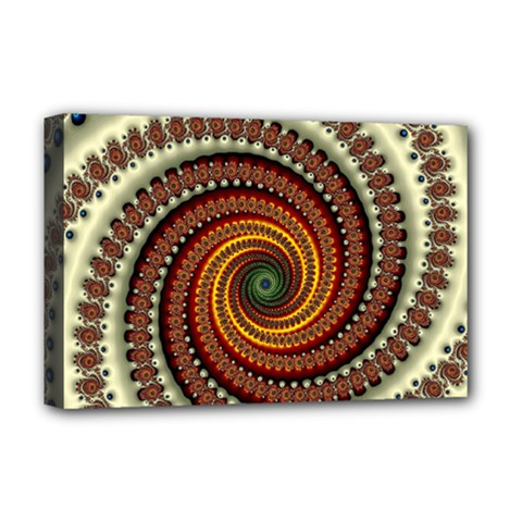 Fractal Pattern Deluxe Canvas 18  X 12