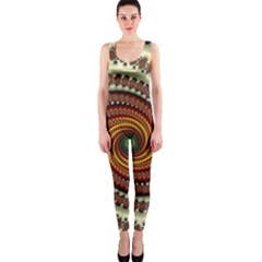 Fractal Pattern Onepiece Catsuit