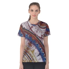 Fractal Circles Women s Cotton Tee