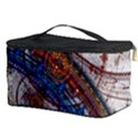 Fractal Circles Cosmetic Storage Case View3
