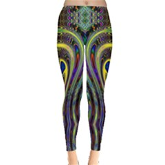 Curves Color Abstract Leggings