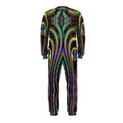 Curves Color Abstract Onepiece Jumpsuit (kids)