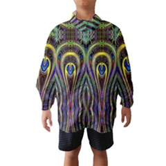 Curves Color Abstract Wind Breaker (kids)