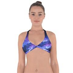Galaxy Halter Neck Bikini Top