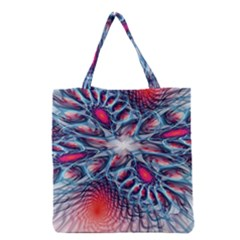 Creative Abstract Grocery Tote Bag