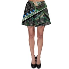 Computer Ram Tech Skater Skirt