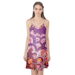 Colorful Art Traditional Batik Pattern Camis Nightgown