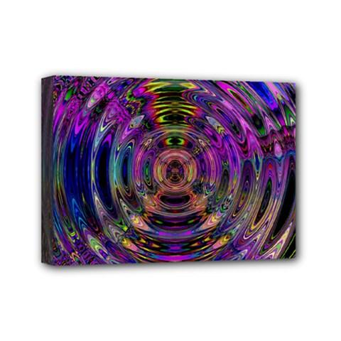 Color In The Round Mini Canvas 7  X 5