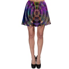 Color In The Round Skater Skirt