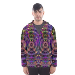 Color In The Round Hooded Wind Breaker (men)