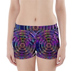 Color In The Round Boyleg Bikini Wrap Bottoms