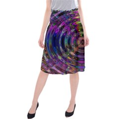 Color In The Round Midi Beach Skirt