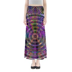 Color In The Round Full Length Maxi Skirt