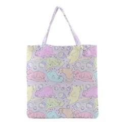 Cat Animal Pet Pattern Grocery Tote Bag