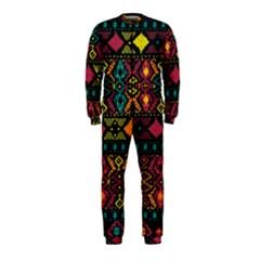 Bohemian Patterns Tribal Onepiece Jumpsuit (kids)