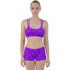 Decorative Seamless Pattern  Women s Sports Set