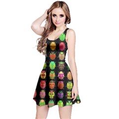 Beetles Insects Bugs Reversible Sleeveless Dress
