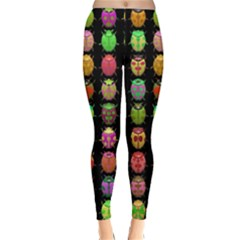 Beetles Insects Bugs Classic Winter Leggings