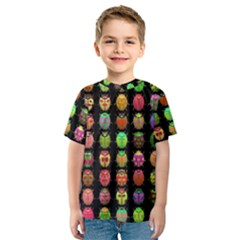 Beetles Insects Bugs Kids  Sport Mesh Tee