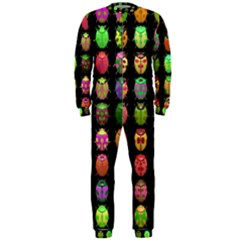 Beetles Insects Bugs Onepiece Jumpsuit (men)
