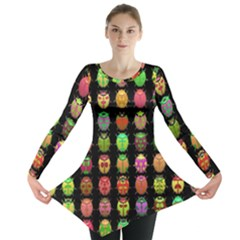 Beetles Insects Bugs Long Sleeve Tunic