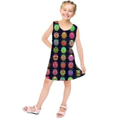 Beetles Insects Bugs Kids  Tunic Dress