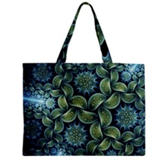 Blue Lotus Medium Tote Bag